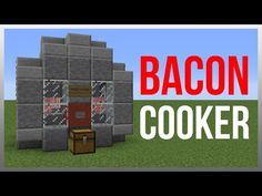 Minecraft 1.10: Redstone Tutorial - Chicken Cooker v2! - YouTube