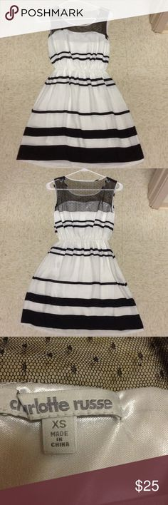 NEVER WORN CHARLOTTLE RUSSE DRESS never worn great condition Charlotte Russe Dresses Mini