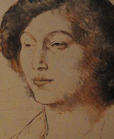Picasso, Portrait of Fernande Olivier, 1905-6, (detail)