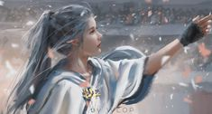 lips long hair people looking away Wlop fantasy art glove digital art elf artwork cape mouth necklace fantasy mole princess ? Fantasy Girl, Anime Art Fantasy, Art Anime, Fantasy Artwork, Anime Art Girl, Elves Fantasy, Fantasy Princess, Fantasy Character Design, Character Inspiration