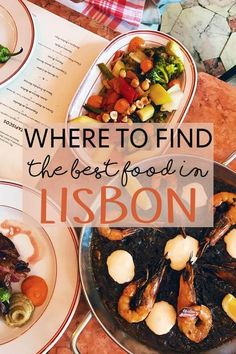 Where to Find the Best Food in Lisbon, Portugal #portugaltravel
