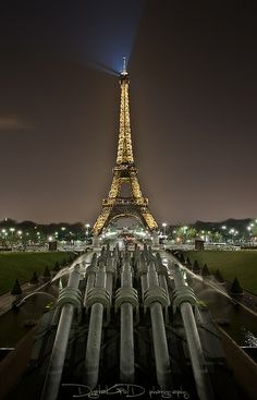 Eiffel Tower From Place du Trocadero - Paris France (end of CW22)