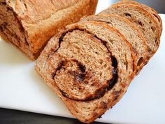 Chocolate Cinnamon Swirl Bread from Budget Bytes, she is a genius