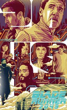 Artists are invited to create artwork inspired by Warner Bros. newest film Blade Runner Blade Runner Art, Blade Runner 2049, Nostalgia, Vector Portrait, The Best Films, Love Movie, Cultura Pop, Film Posters, Digital Art