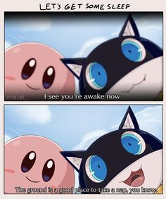 Kirby and Morgana Found You Asleep Super Smash Bros Memes, Nintendo Super Smash Bros, Fire Emblem Awakening, Creepypasta Anime, Nintendo Characters, Nintendo Games, Kirby Nintendo, Super Smash Ultimate, Persona 5 Memes
