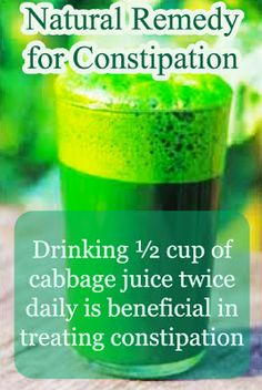 Natural Remedy of Constipation