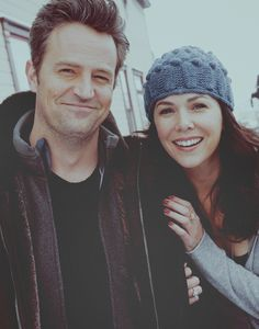 Matthew Perry and Lauren Graham <3 unbeleiveable they were dating
