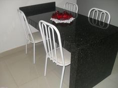 Small Apartments, Chair, Kitchen, Furniture, Home Decor, Blog, Granite Dining Table, Wall Desk, Cuisine Design