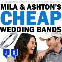 ►► MILA AND ASHTON'S CHEAP WEDDING BANDS ►► Jewelry Secrets