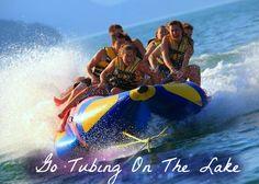 Go Tubing On The Lake