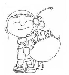 44 Best Coloring Pages Despicable Me Images Coloring Pages For