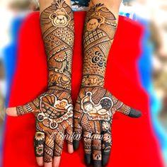 Baby Mehndi Design, Arabic Bridal Mehndi Designs, Back Hand Mehndi Designs, Mehndi Designs Book, Mehndi Design Pictures, Mehandi Designs, Mehndi Images, Tattoo Baby Shower, Krishna Tattoo