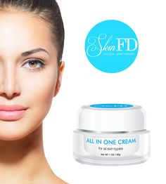 SkinFD's All-In-One Cream is a rehydrating delight. Perfect for dry and bothered skin, this incredible solution uses the moisturizing and skin nourishing properties of Hyaluronic Acid, Vitamin E and a Copper Peptide Complex to balance moisture, stimulate cell growth and rejuvenate your skin on a daily basis.  Natural Avocado and Soybean oils help condition and smooth the surface, so your skin not only feels good, it looks good too.  For more info http://skinfd.com/?attachment_id=411