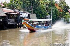 Bangkok Rivers, Canals and Klongs Guide - A Mini Guide to Waterways in Bangkok Bangkok, Attraction, Boat, River, Explore, City, Boats, City Drawing, Rivers