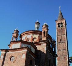 Sant'Eustorgio, Portinari Chapel, exterior. Milano