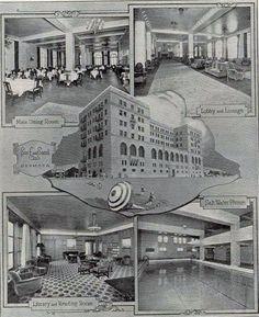 Hermosa Beach hotel of old.