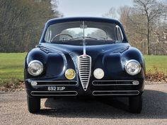 Alfa Romeo 6C 2500 SS Villa d'Este Coupé by Touring (1949) Maintenance/restoration of old/vintage vehicles: the material for new cogs/casters/gears/pads could be cast polyamide which I (Cast polyamide) can produce. My contact: tatjana.alic14@gmail.com