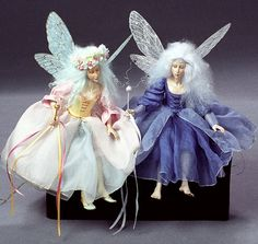 Fairy Art Dolls by Kat Soto for The Dollsmith