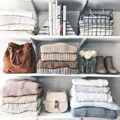 Mix It Up - How To Make Your Exposed Closet Look Elevated - Photos #bedroomideas
