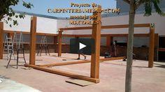 Montaje pérgolas y porches carpintería para restaurantes PARTE DECIMA MONTAJES M3