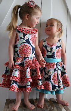 Adorable DIY dresses.