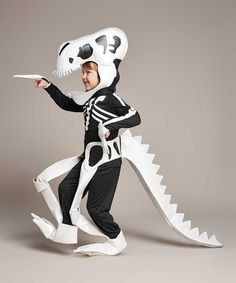 t rex skeleton costume. See more. Another great find on #zulily! Dinosaur Skeleton Dress-Up Set - Kids # & t rex skeleton costume | Kidu0027s Costumes!!!!! | Pinterest | Costumes ...