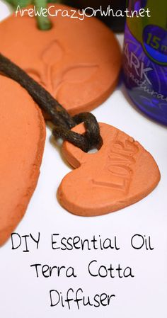 Step by step directions for making an essential oil terra cotta personal diffuser. #beselfreliant