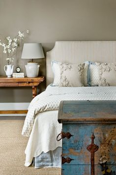 Bedroom from Barbara Westbrook's Gracious Homes