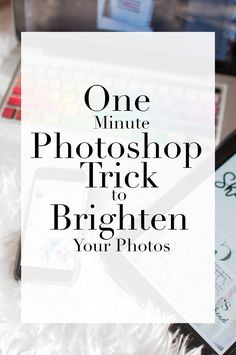 How to brighten your flatlay photos easily in Photoshop CS5