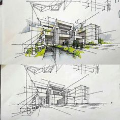 #architecture  #arquitectura  #sketch  #scetch #design  #art . by @dn.sadighi . Follow @arch_cad for more daily sketchs . . ✏❤
