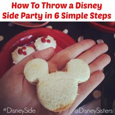 Here are some helpful tips to how to throw your own #DisneySide Party.