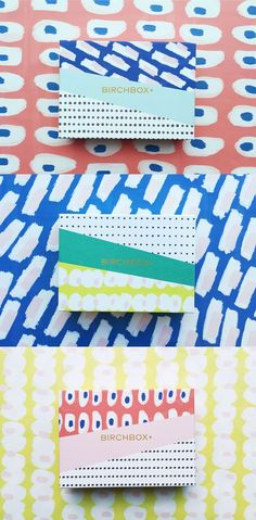 Birchbox March 2015 Subscription Box on Packaging of the World - Creative Package Design Gallery