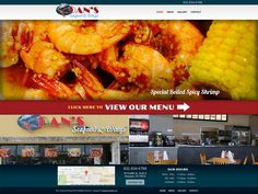 Dan's Seafood offers fresh, unforgettable seafood, wings, and other tasty items to the Houston area. Hyperlinks Media's team of experienced designers were able to create the perfect website to represent the restaurant. #RestaurantWebsiteDesign