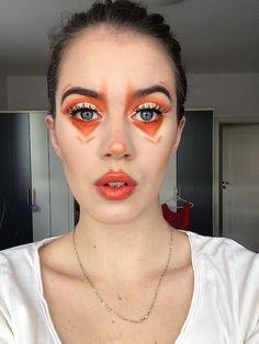 Orange claun. ~ The Inner Everglow