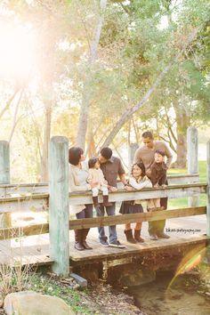 Creative Outdoor Family Photography // Yorba Regional Park Family Portraits ∞ Orange County Family Portrait Photographer — www.bkm-photography.com