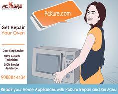 Microwave Repair & Service @ ur Doorstep - PcKure.com  Reliable Technician · Immediate Repair Response