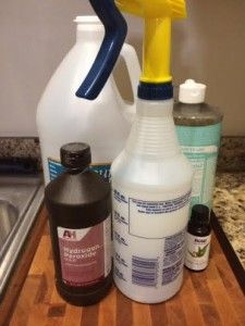 DIY Carpet Cleaner Stain Remover Spray