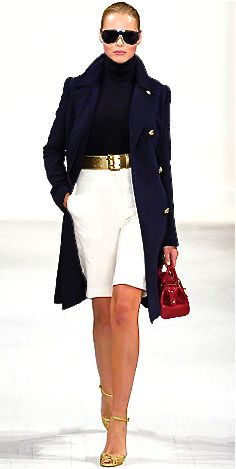 Sophisticated, smart, ownership  Ralph Lauren Loving this outfit