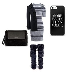 """""""Untitled #59"""" by edatgirl ❤ liked on Polyvore featuring Gianvito Rossi, Lands' End and Karen Millen"""