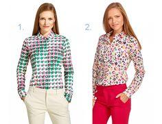 Be Happy Vinti: Koszule w kolorowe printy