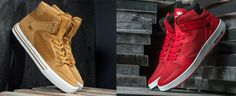 Supra shoes, Supra Vaider 2.0 Red/White, Supra Vaider Amber gold/White