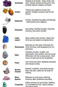Stones and spiritual healing