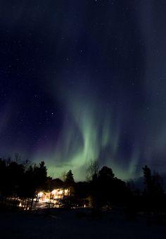 aurora borealis by Etr Iena, via Flickr