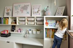 Baby Room Design, Girl Bedroom Designs, Kids Bedroom, Toddler Playroom, Toddler Rooms, Ikea Kids, Toy Rooms, Playroom Decor, Big Girl Rooms