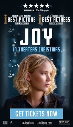 See Jennifer Lawrence in Joy this Christmas!