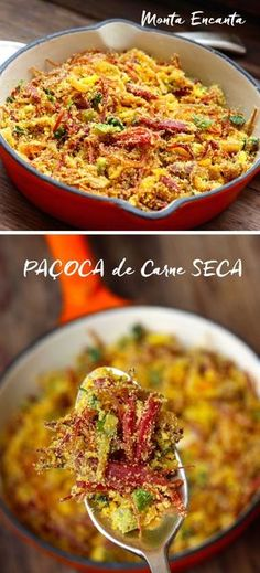 Brazillian Food, New Recipes, Favorite Recipes, Good Food, Yummy Food, Bon Appetit, Finger Foods, Risotto, Side Dishes