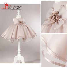 5eb80049659 Aliexpress.com   Buy Cheap Bow Girl Dresses 2017 Cute Ball Gown Sleeveless Flower  Girl Dresses for Weddings Party Dresses communion dresses ZY143 from ...
