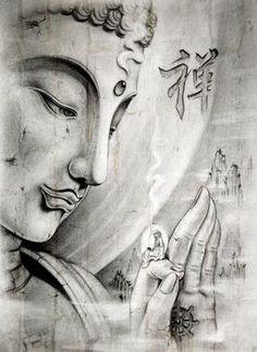 Mon humeur actuelle. Je me sens si humble et si reconnaissante devant les enseignements bouddhistes que je reçois.