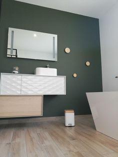 Bathroom Lighting, Bathtub, New Homes, Inspiration, Mirror, Furniture, Bathrooms, Home Decor, Neckline