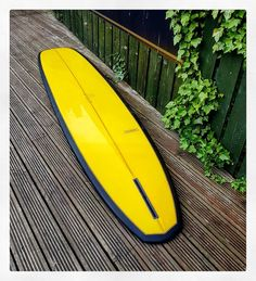 926be294ffaeb Resin tint matte black deck with polished yellow bottom and